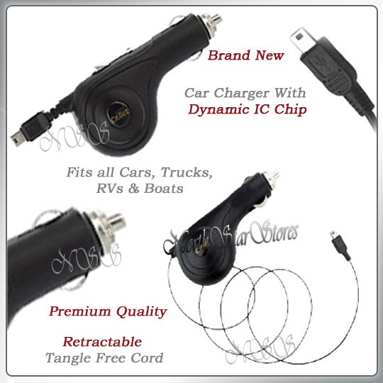 for T-MOBILE HTC DASH S620 CELL PHONE POWER CAR CHARGER