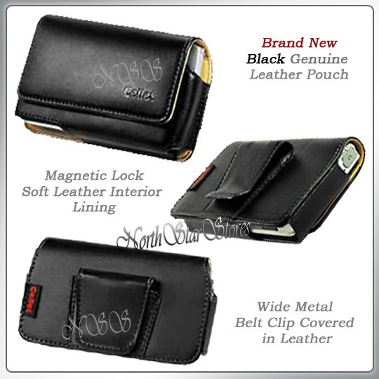 for APPLE iPHONE i PHONE 3G LEATHER CASE POUCH HOLSTER