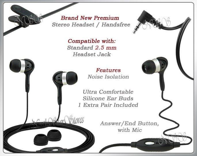 for LG VOYAGER VX10000 VX HANDSFREE STEREO HEADPHONES