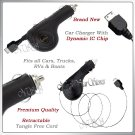 for SAMSUNG INSTINCT M800 RETRACTABLE CAR CHARGER NEW