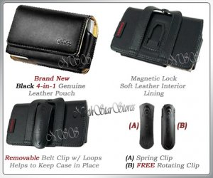 fr SAMSUNG SGH-I900 I910 OMNIA LEATHER CASE POUCH COVER
