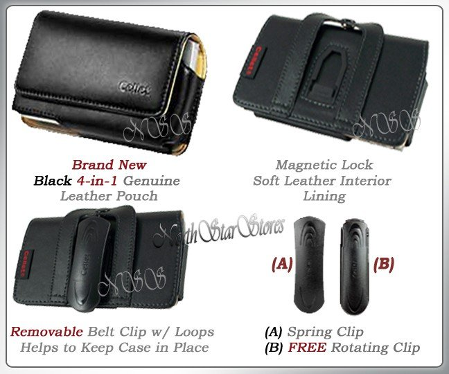 for SAMSUNG ETERNITY A867 LEATHER CASE POUCH HOLSTER NW