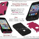 for APPLE iPHONE 4 4S SPRINT VERIZON PINK HYBRID SILICONE SLIM CASE COVER SKIN