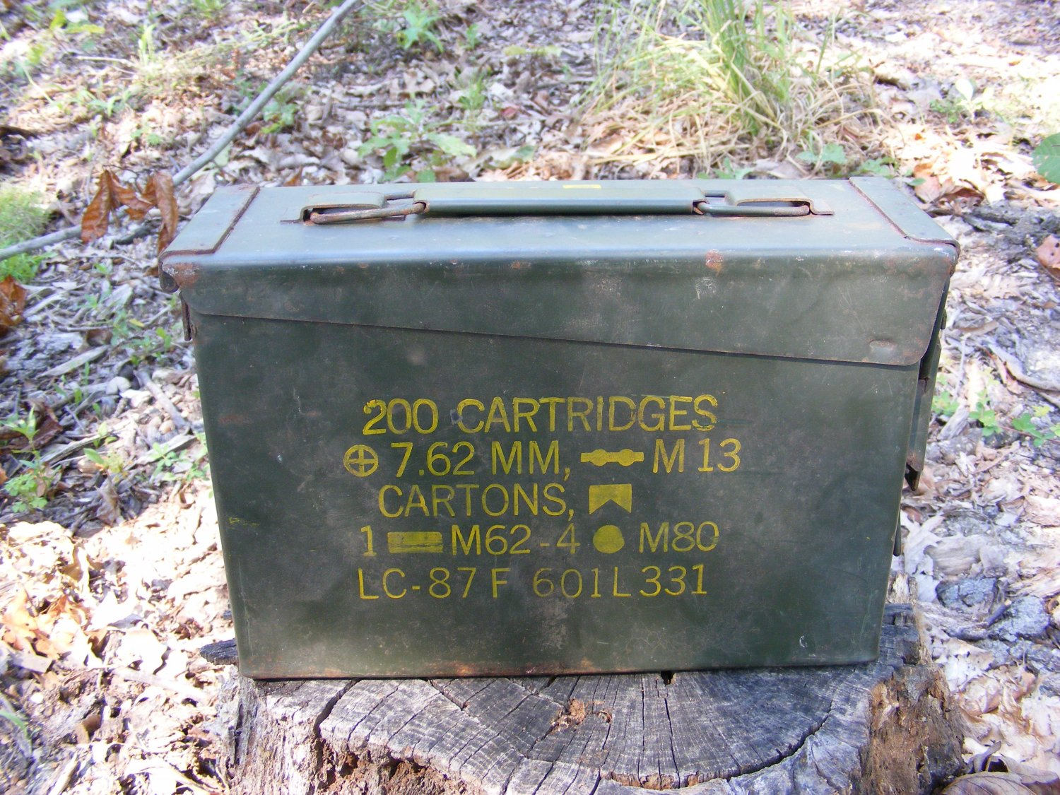 30 Caliber Ammo Boxes US Army Ammunition Can Geocaching Container