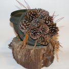 Low Profile Pine Cone And Pine Straw Geocaching Container