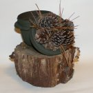 Pine Cone And Pine Straw Small Geocaching Container