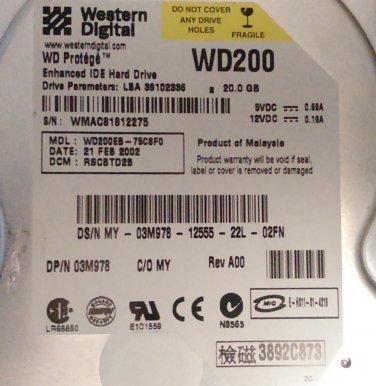 WD200EB-75CSF0 (EIDE)