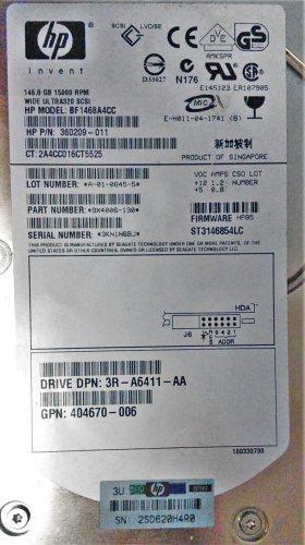 HP Model #: BF1468A4CC