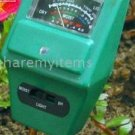 3 in 1 soil probe - test soil pH, soil moisture content and light levels
