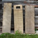 Old Primitive Carved Wooden Washboards