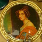 West Germany Portrait Brooch
