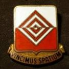 Vintage Vincimus Spatium US Army Uniform Pin