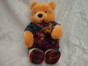 Winnie the Pooh Plush Toy in Pajamas