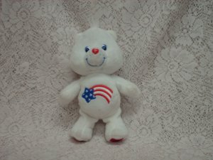 2003 Care Bear America Plush Toy