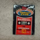1992 SEALED TOPPS STADIUM CLUB SERIES 1- BASEBALL CARDS