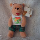 "8"" Disney Miami  Beach Bum Pooh Plush TOY"
