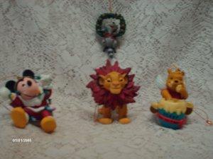 Disney's Christmas Ornaments