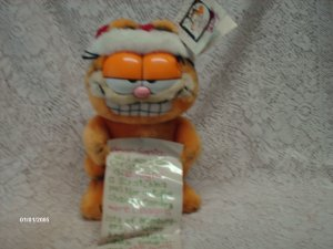 Dakin Happy Birthday Garfield Plush