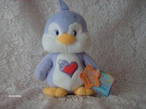 2003 CARE BEARS COUSINS COZY HEART PENQUIN PLUSH TOY