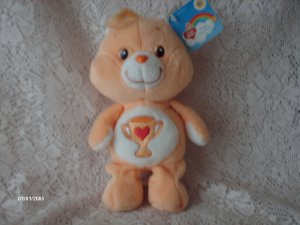 2003 CARE BEARS CHAMP BEAR PLUSH