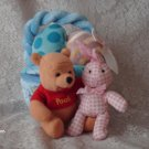 DISNEYS WINNIE THE POOH IN EASTER BASKET PLUSH