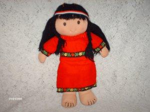 Rare Kamar Native American Rag Doll