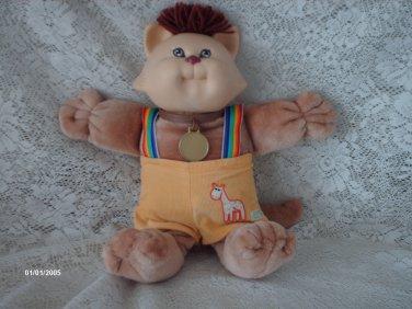 1983 CABBAGE PATCH KOOSAS CAT PLUSH DOLL