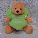 2003 Disney Winnie the pooh SWEET LIPS Plush Toy