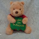 Disney Baby Baby's 1st St. Patrick's Pooh Plush Toy