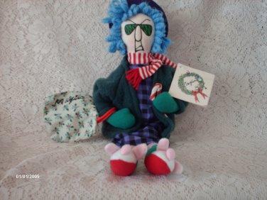 "16"" Hallmark Maxine Christmas Plush Doll"