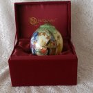 Ne' Qwa Art Glass Snownan Ornament by Michelle Palmer