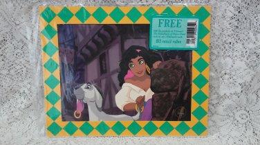 1996 New Esmeralda her pet goat Djali lithograph