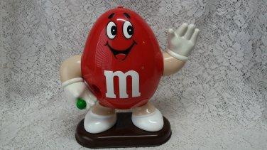 1992 red M&M peanut candy dispenser