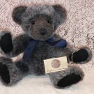 "Russ vintage collection grey bear "" Yarwood"" plush"