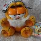1978 1981 Garfield xmas stuck on you window clinger plush