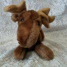 """1978 R Dakin 10"""" moose plush toy"""