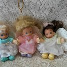 "3* 1997 Precious Moments 5"" Angel plush dolls"