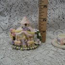Mini Rabbit Wedding Tea Set