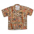 Miller Genuine Draft Men's Hawaiian Shirt Orange
