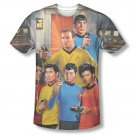 Star Trek TOS Bridge Sublimation T-Shirt Black