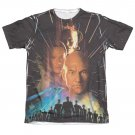 Star Trek TNG First Contact Sublimation T-Shirt Black