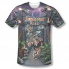 Jurassic Park Welcome To The Park Sublimation T-Shirt Purple