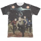 Star Trek TOS Running Sublimation T-Shirt Black