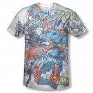 Superman Break Free Sublimation T-Shirt White