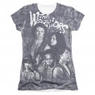 The Warriors Moody Streets Sublimation Juniors T-Shirt Gray