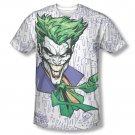 Batman Joker Laughter Sublimation Tee Shirt White