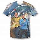 Star Trek Phasers Down Sublimation T-Shirt Black