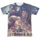 Rambo First No Mercy Sublimation T-Shirt White