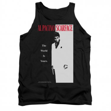 Scarface Poster Tank Top Black