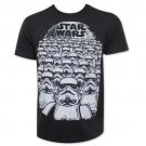 Star Wars Stormtroopers Marching Army T-Shirt Black